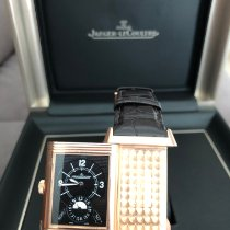 Jaeger-LeCoultre Grande Reverso Duo Or rose 48.5mm Argent