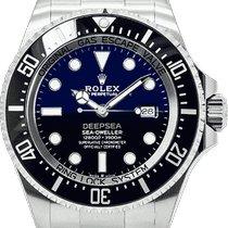 Rolex Sea-Dweller Deepsea Stal 44mm Niebieski