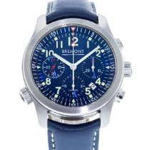 Bremont ALT1-P Pilot Steel 43mm Blue United States of America, Georgia, Atlanta