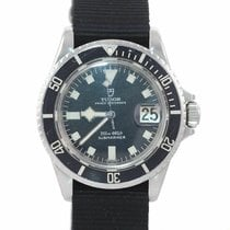 Tudor Submariner Stål 40mm Sort