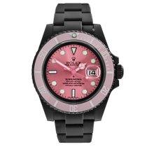 Rolex Submariner Date Stahl 40mm Pink