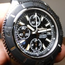 Breitling Superocean Chronograph II Steel 44mm Black