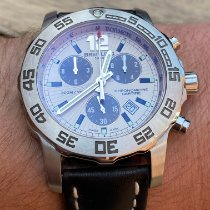 Breitling Colt Chronograph II Steel 44mm Silver No numerals