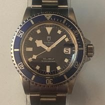 Tudor Submariner Stål 40mm Blå Ingen tal