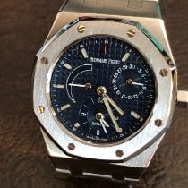 Audemars Piguet Royal Oak Dual Time Acier Bleu