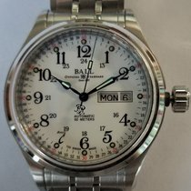 Ball Trainmaster Steel 41mm White Arabic numerals United States of America, New Jersey, Long Valley