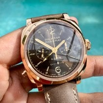 Panerai Rose gold Manual winding Brown Arabic numerals 45mm pre-owned Special Editions