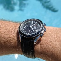 Omega Speedmaster Day Date Steel 40mm Black No numerals United States of America, Florida, West palm beach