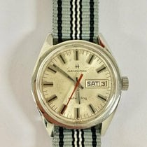 Hamilton Steel Manual winding 826007-3 pre-owned