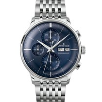 Junghans Meister Chronoscope 027/4528.44 New Steel 40.7mm Automatic