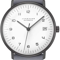 Junghans Steel 34mm Automatic 027/4006.04 new United States of America, New Jersey, River Edge