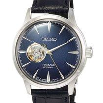 Seiko Presage Steel 40.5mm Blue No numerals United States of America, New Jersey, River Edge