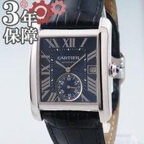 Cartier Tank MC Acero 34mm Azul