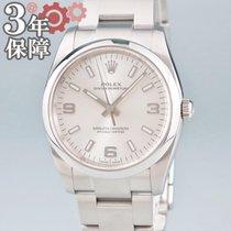 Rolex Oyster Perpetual 34 Çelik 34mm Gümüş