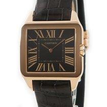 Cartier Santos Dumont Pозовое золото Коричневый
