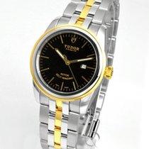 Tudor Glamour Date Gold/Stahl 31mm Schwarz Deutschland, Teuschnitz