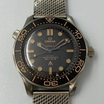 Omega Seamaster Diver 300 M Titanium 42mm Black No numerals Malaysia, Kuala Lumpur