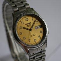 Seiko 5 Stahl 35mm Gold Arabisch Deutschland, Pliezhausen