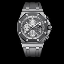 Audemars Piguet Royal Oak Offshore Chronograph Titanio 42mm Gris Arábigos