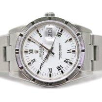 Rolex Oyster Perpetual Date Acero 34mm Blanco Sin cifras España, Madrid