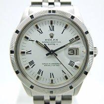 Rolex Oyster Perpetual Date Acero 34mm Blanco Sin cifras España, Huesca