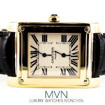 Cartier Tank (submodel) 2551 Muy bueno Oro amarillo 28mm Cuerda manual