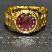 Rolex Lady-Datejust Yellow gold 26mm Red No numerals Singapore, Singapore