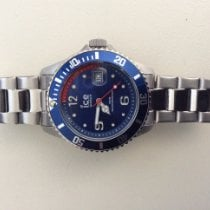 Ice Watch new Quartz Central seconds 40mm Steel Sapphire crystal