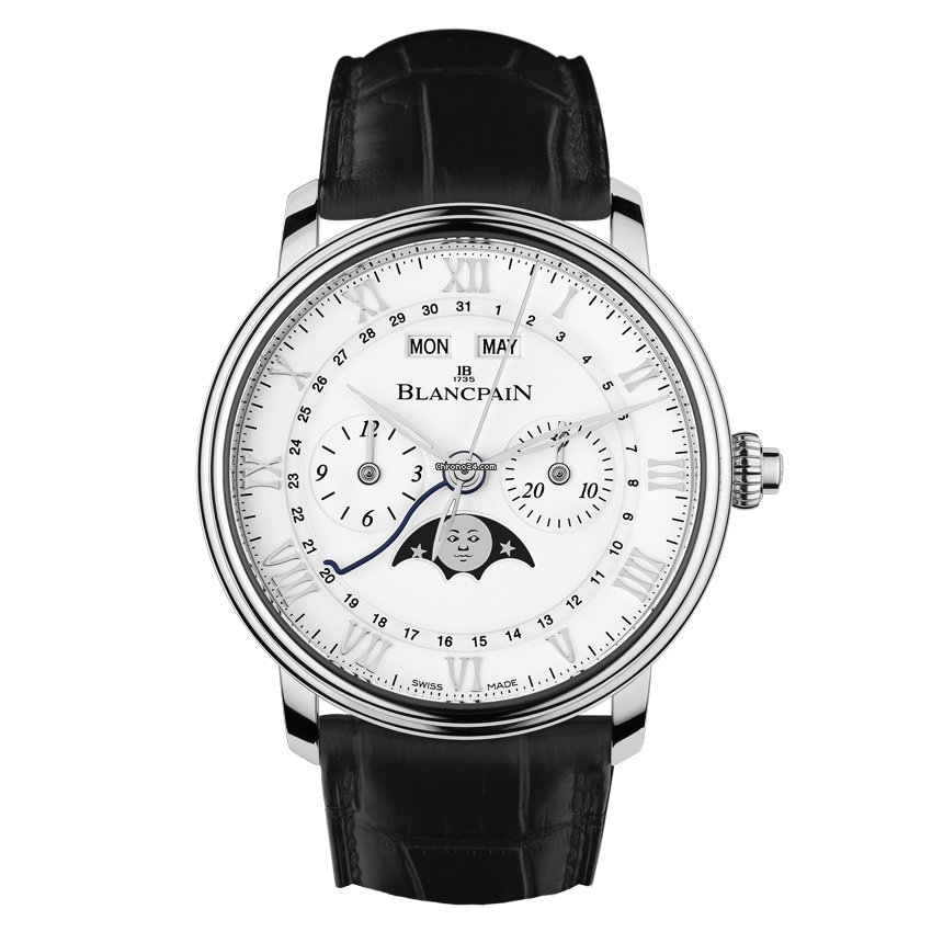 Blancpain Villeret Complete Calendar 6685-1127-55B new