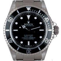 Rolex Submariner (No Date) Acciaio 40mm Nero