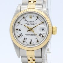 Rolex Lady-Datejust 69173 Sehr gut Gold/Stahl 26mm Automatik