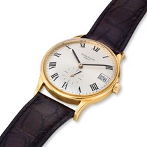 Patek Philippe Calatrava Yellow gold 33.8mm Silver Roman numerals United States of America, Massachusetts, Chatham
