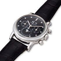 Patek Philippe Perpetual Calendar Chronograph Platinum Black