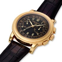 Patek Philippe Chronograph Yellow gold 42mm Black United States of America, Massachusetts, Chatham