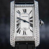 Cartier Tank Américaine White gold 41.6mm White Roman numerals
