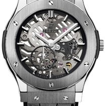 Hublot Classic Fusion Ultra-Thin Titanium 45mm Transparent No numerals United States of America, New York, Brooklyn