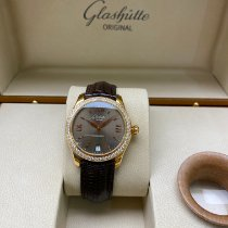Glashütte Original Lady Serenade pre-owned 36mm Brown Date Leather