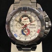 Seiko Velatura Chronograph Acier 42mm Blanc