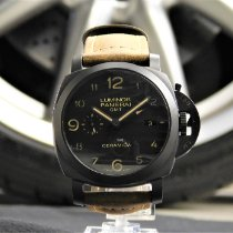 Panerai Luminor 1950 3 Days GMT Automatic Ceramic 44mm Black Arabic numerals United States of America, Pennsylvania, Huntingdon Valley