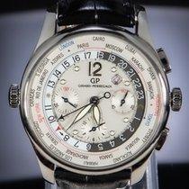 Girard Perregaux WW.TC 49805.11.151.BA6A Veldig bra Stål 43mm Automatisk