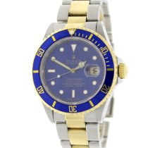 Rolex Submariner Date 16613 Bon Or/Acier 40mm Remontage automatique