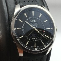 Oris Artix Complication Steel 43mm White No numerals