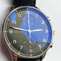 IWC IW371438 Acero Portuguese Chronograph 41mm usados