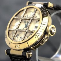 Cartier Pasha 1023 Very good Yellow gold 39mm Automatic