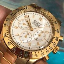 Zenith El Primero Chronograph Or jaune 40mm Blanc Arabes