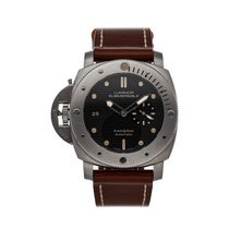 Panerai Special Editions 47mm Negro Sin cifras