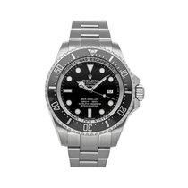 Rolex Sea-Dweller Deepsea Acero 44mm Negro Sin cifras