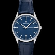 Zenith Steel Automatic Blue 40.50mm new