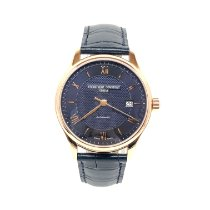 Frederique Constant Classics Index Gold/Steel Blue United States of America, Florida, North Miami Beach
