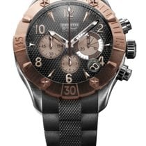 Zenith Rose gold Automatic Black 46.5mm pre-owned Defy
